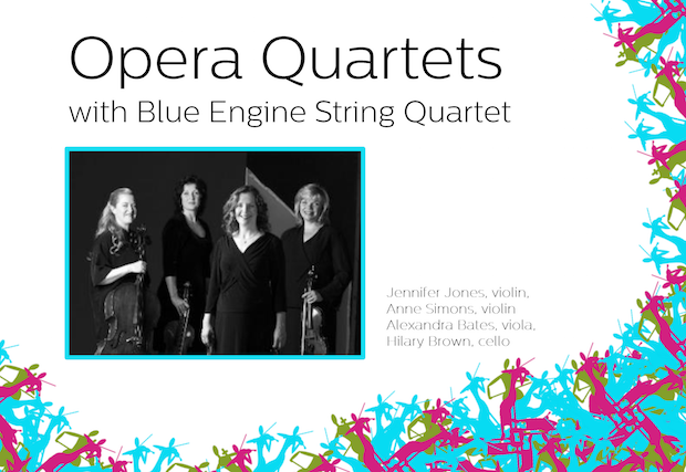 Opera Quartets with Blue Engine String Quartet